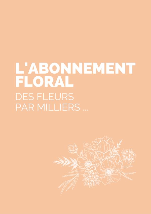 abonnement floral lyon